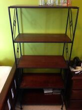 Solid wood and iron book shelf Epping Ryde Area Preview