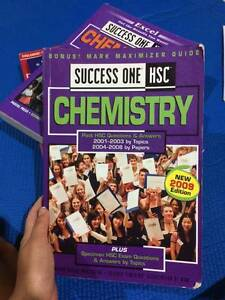 CHEAP -- HSC CHEMISTRY AND PHYSICS TEXTBOOKS (EXCEL, DOTPOINT) Wahroonga Ku-ring-gai Area Preview