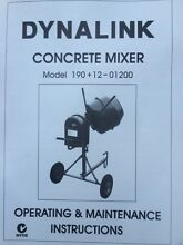 New cement mixer Corrimal Wollongong Area Preview