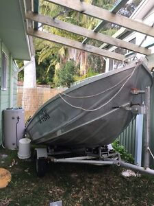 14ft tinny 15hp mercury Chain Valley Bay Wyong Area Preview