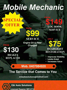 Mobile Mechanic Southern River Gosnells Area Preview