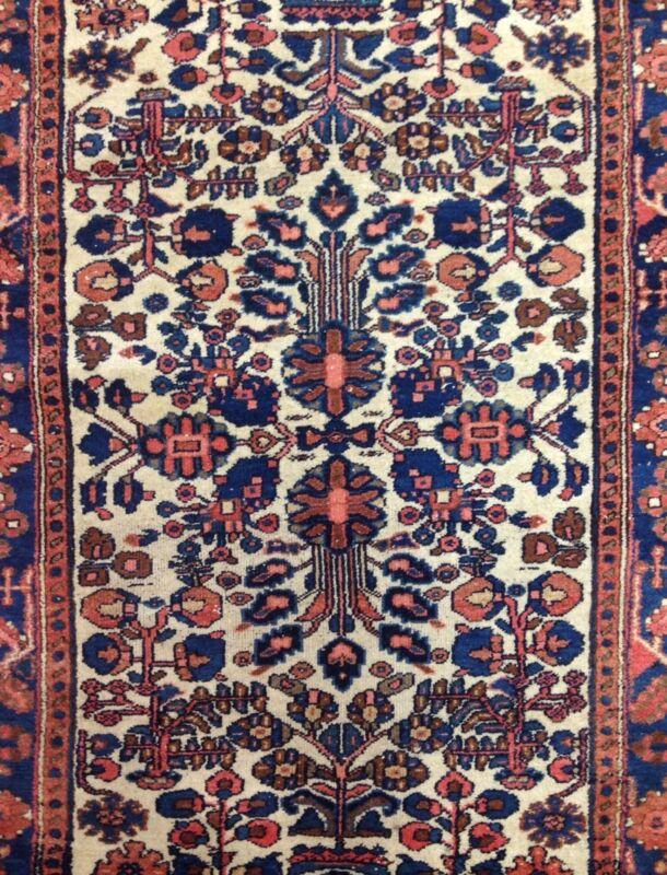 Fantastic Floral - 1920s Antique Oriental Rug - Tribal Carpet - 3.8 X 6.7 Ft.