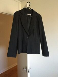 Portmans pinstrip suit jacket Curtin Woden Valley Preview