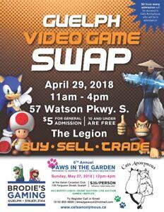 Video Game Swap & Sale Guelph April 29 11-4