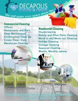 Affordable Commerical and Residential Cleaning