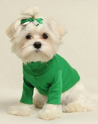 Xxxs Bright Green Dog Turtleneck Shirt Clothes Pet Apparel Teacup Pc Dog®