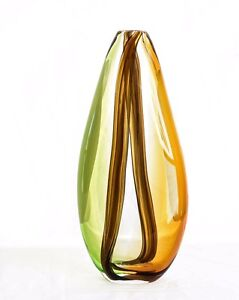 Art Glass Sculpture Vase Paddington Brisbane North West Preview