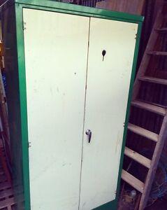 Fab Heavy Duty Industrial Metal Two Door Cabinet Truro Mid Murray Preview