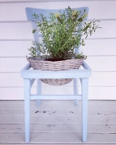 Beautiful Up Cycled Repurposed Chair / PotPlant Stand with Plant Miami Gold Coast South Preview