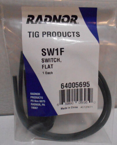 Radnor Model SW-1F Momentary Flat Switch For All Radnor TIG Torches