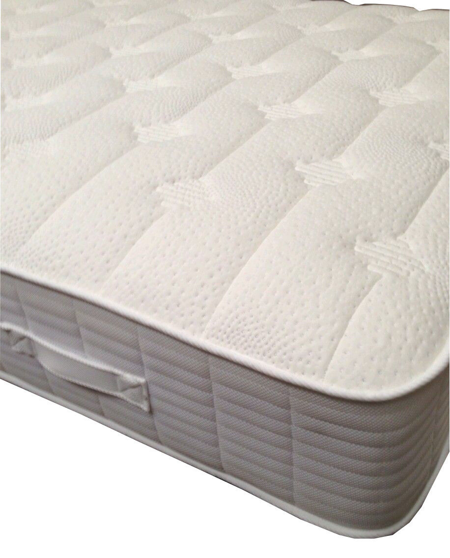 Silvercare Supreme 10 Deep Memory Foam Mattress Comfy Micro Quilted Pulse Top Ebay