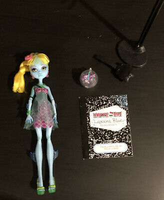 Monster High Lagoona Blue 13 Wishes Doll 2013