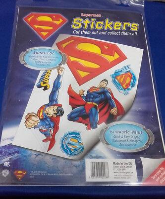DC COMICS SUPERMAN wall stickers sticker Decor decal decals  A4 Sheet