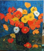 Wim Boissevain Oil painting - Poppies Stirling Stirling Area Preview