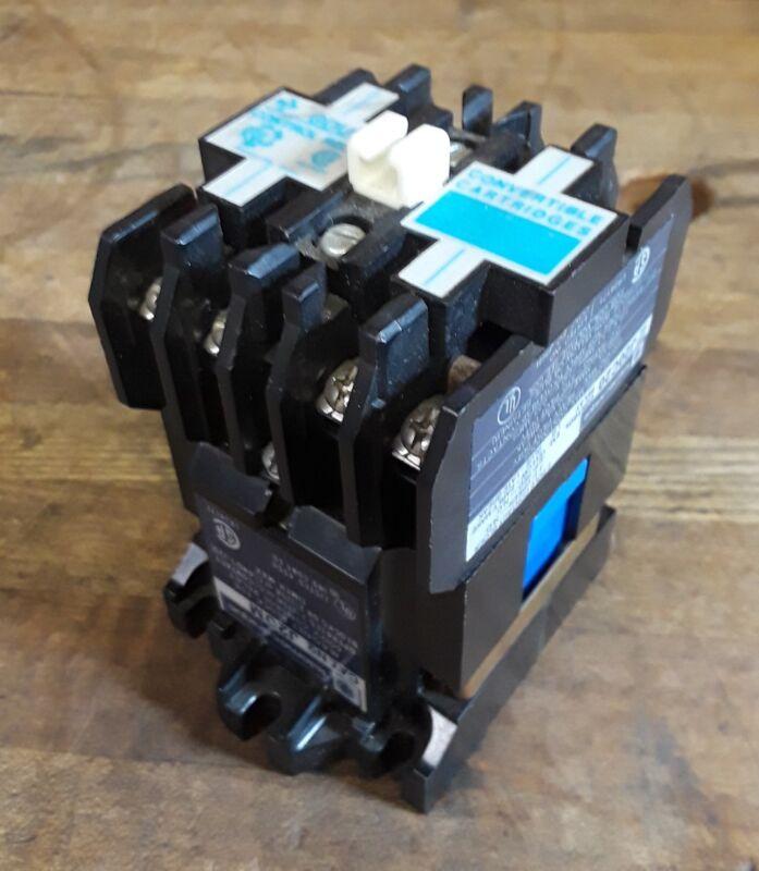 Gould Telemecanique J20C20 Control Relay & J20M Magnet Block 600 Volt 10 Amp