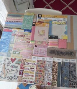 Over 100 scrap book, stamps & card items. All new. While lot for $40. Indooroopilly Brisbane South West Preview