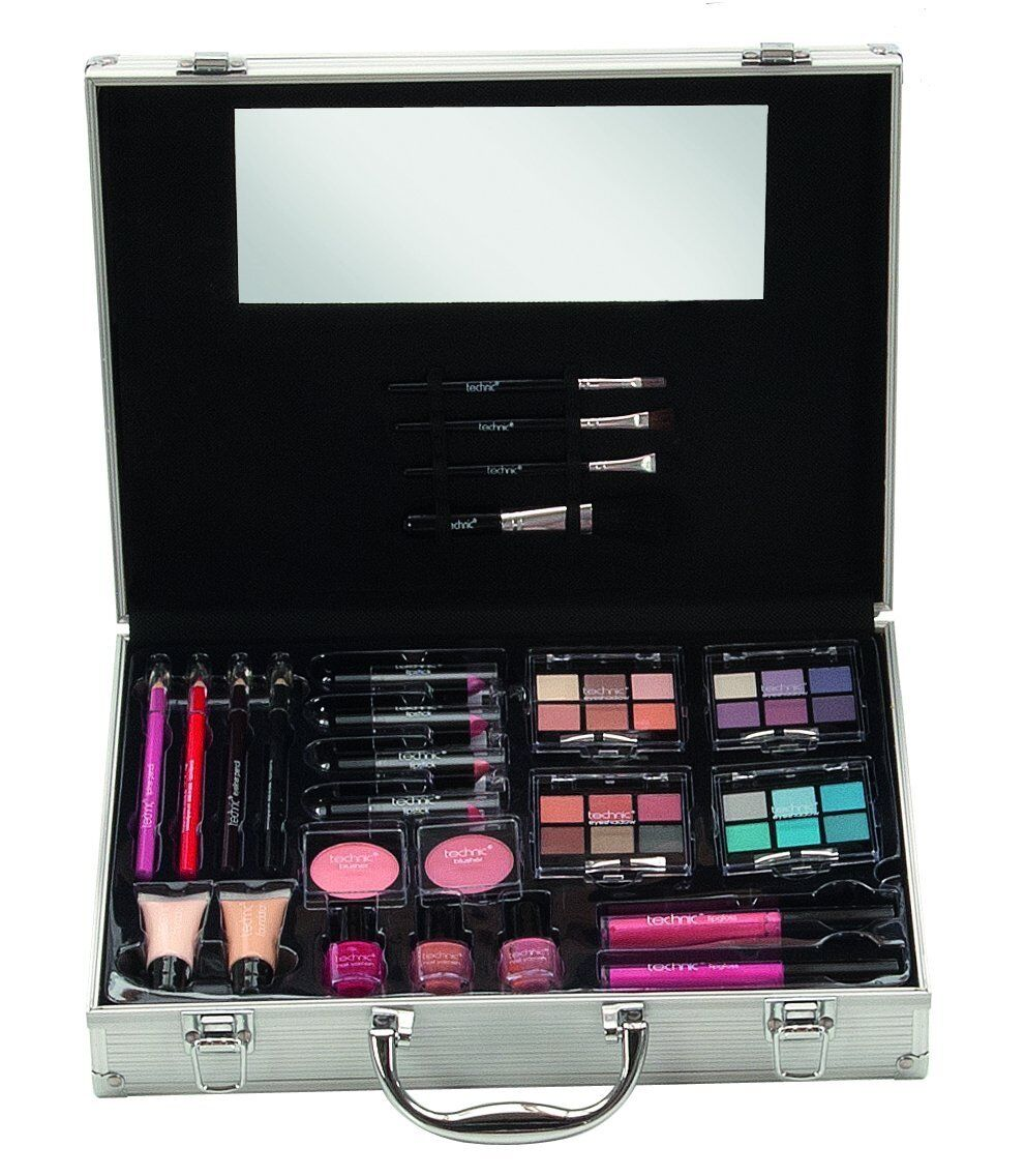 Technic X - Grande Donna Attaché Valigetta da viaggio make-up Set 92234