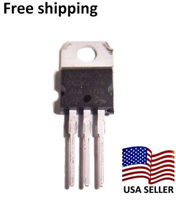 10 Pcs Ka7805 5 Volt 1a Lm7805 Voltage Regulator  Us Seller