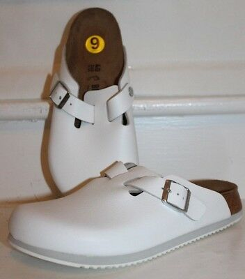 Birkenstock Boston Super Grip Nursing Leather Clogs Shoes Non-Slip MSRP $150 NEW ()