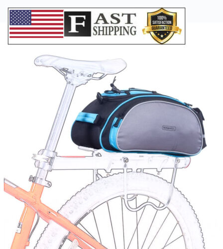 Roswheel 14541 Multifunctional Bike Rear Seat Cargo Bag Bicycle Rack Trunk Panni