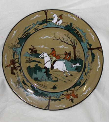 Antique Buffalo Pottery Plate – The Fallowfield Hunt – Streivel Artist