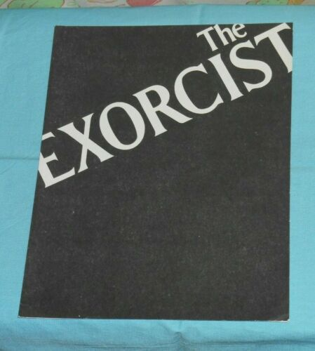 original THE EXORCIST movie program