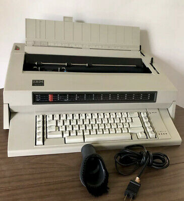Vintage Ibm Wheelwriter 3 Electronic Electric Typewriter Tested Working 1987 Vtg