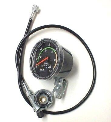 Tachometer Geschwindigkeitsmesser mit Kilometerzähler Fahrrad CLASSIC DRESCO online kaufen