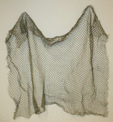 2'x5' Authentic Used Fishing Net Old Vintage Fish Netting Nautical Decor Party
