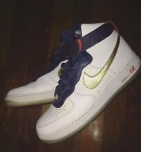 White USA Air Force high tops.. Size 10US Redbank Plains Ipswich City Preview