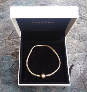 Gold Pandora bracelet Greta Cessnock Area Preview