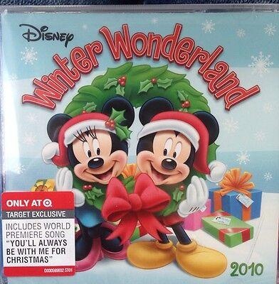 NEW CHRISTMAS HOLIDAY DISNEY WINTER WONDERLAND 2010 MUSIC CD LYRICS AND POSTER ()