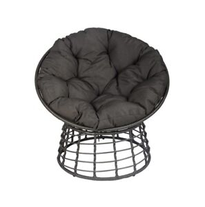 Round Moon Chair wicker rattan style outdoor garden lounge furniture