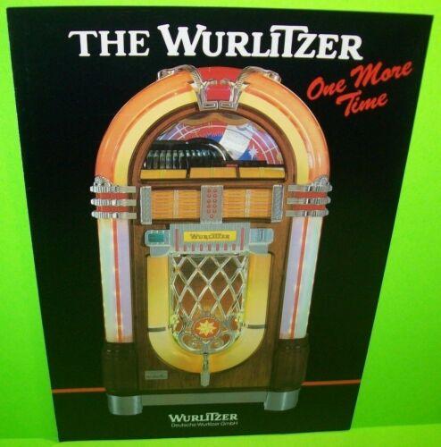 Wurlitzer Jukebox FLYER One More Time Original NOS Music Phonograph Music Sheet