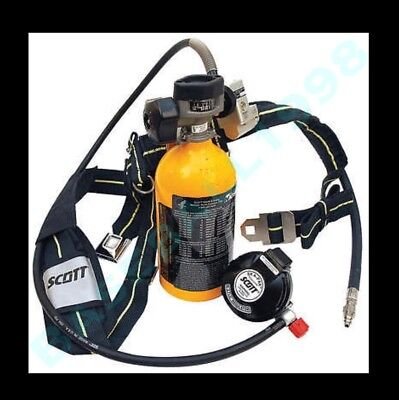 Scott Ska-pak Plus 5min Escape Saba Emergency Bottle Remote Mobile Air Scba