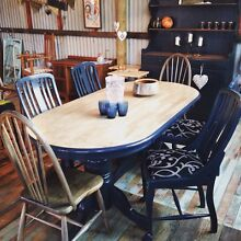 7 piece refurbished dining setting Marshall Geelong City Preview