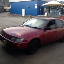 Toyota Corolla seca 1996 Rooty Hill Blacktown Area Preview