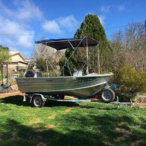 Fishing boat Bywong Queanbeyan Area Preview