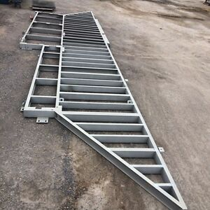 Abstract shape - steel deck frames - $ 1,950 each Ottoway Port Adelaide Area Preview