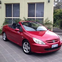 Peugeot convertible 2005 Deakin South Canberra Preview