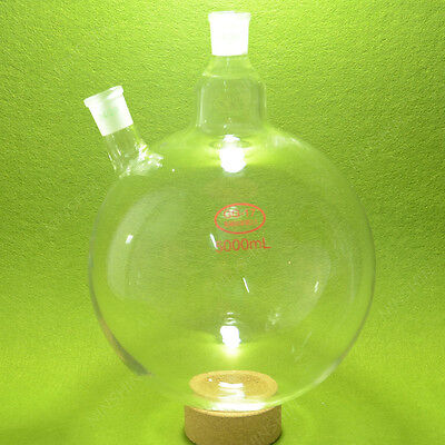Round Bottom Flask5000mltwo Neck2429heavy Walllab Rbf