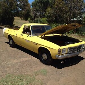 ORIGINAL HZ KINGSWOOD UTE RUNS GREAT HOLDEN he hj hx wb Drysdale Outer Geelong Preview