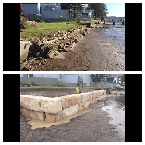 Sandstone Retaining Specialists Terrigal Gosford Area Preview