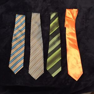 Men's Ties Variety Of Colors And Styles X4 Endeavour Hills Casey Area Preview