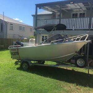 4.2 metre Aquamaster Aluminuim Boat. Wynnum Brisbane South East Preview