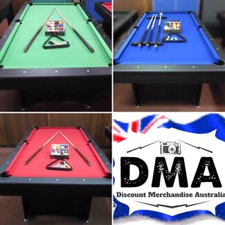 Pool Table Clearance! Great Value!! Free Delivery $999 Pool Tables!