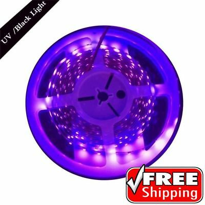 UV LED Light Strip Blacklight Room Party 3D Print Ceiling Decor Lighting New](Blacklight Room Decor)