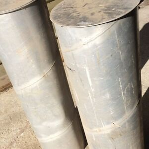 Two aluminium pipes Grove Huon Valley Preview
