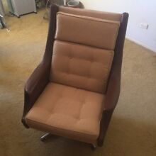 Retro Swivel Armchair North Epping Hornsby Area Preview