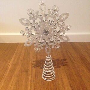 NEW Christmas Tree star, topper, snow flake, Morgan & Finch Croydon North Maroondah Area Preview